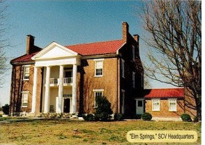 Elm Springs, TN - SCV Headquarters